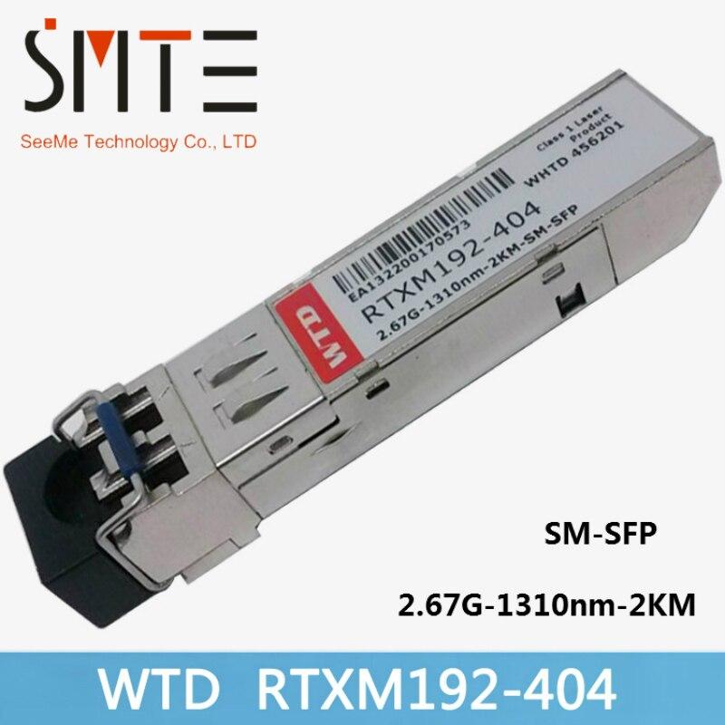 WTD RTXM192-404 2.67G-1310nm-2KM-SM-SFP 34060327 Fiber Optical Transceiver