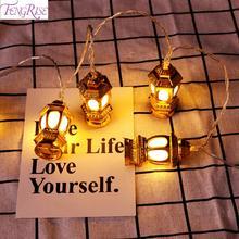 Eid Al Adha Moon Castle Ramadan Light Decoration Muslim Islam Happy Mubarak Decor Islamic Gift