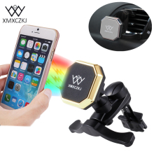 XMXCZKJ Universal 360 Degree Rotate Car Air Vent Mount Holder Cradle Magnetic Holder Magnet Holder For iPhone Samsung Xiaomi
