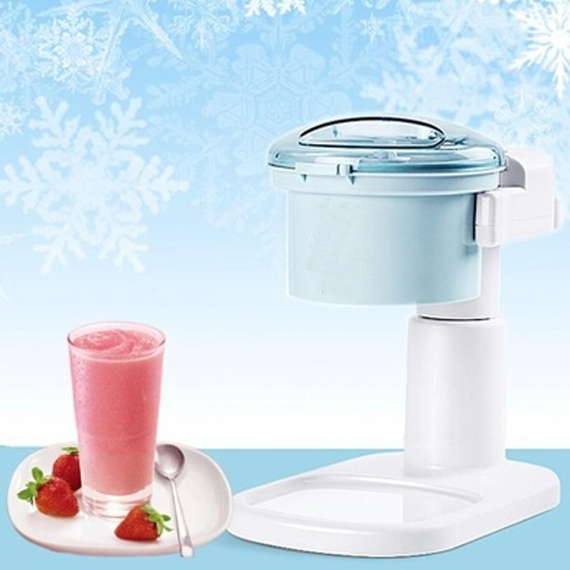 VOSOCO Ice crusher electric ice crusher maker snow cone machine Smoothie machine household automatic electric ice machine jiqi electric ice crusher shaver snow cone ice block making machine household commercial ice slush sand maker ice tea shop eu us