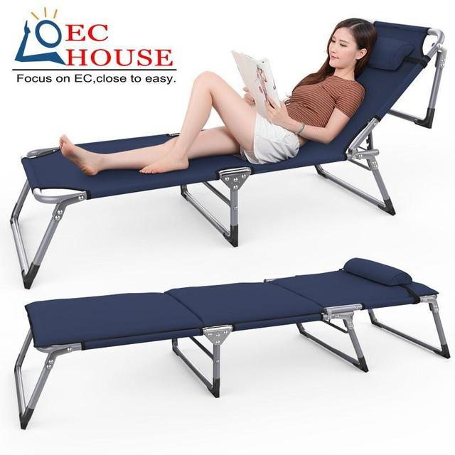 Le folding reinforcement office simple lunch three single cot couch nap bed nursing FREE SHIPPING