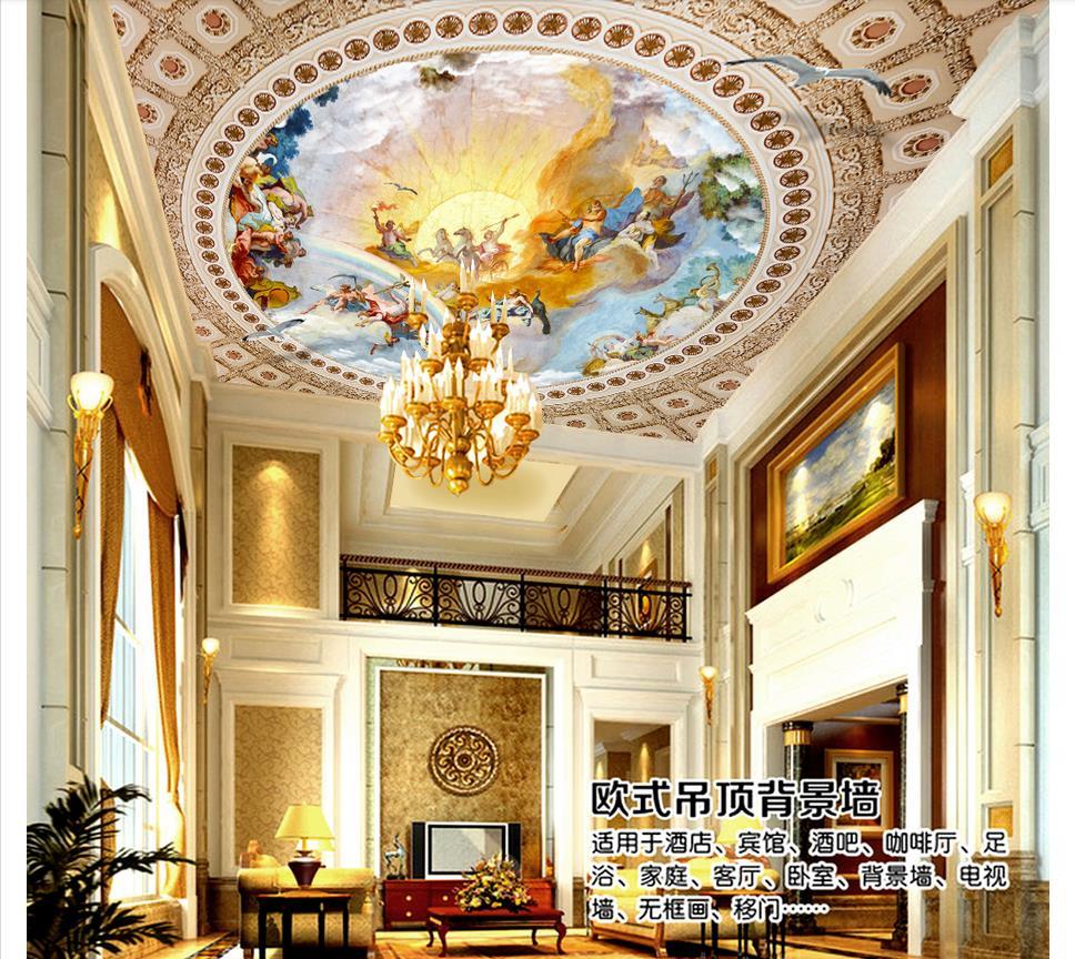 Custom Photo Wallpaper 3d ceiling murals wallpaper European fairy ...