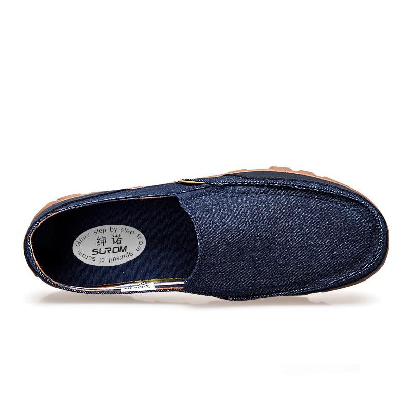 Plus Pour De Chaussures Denim Sur Hommes Offre Taille kaki Bleu Spéciale Surom Toile Grande gris Krasovki Homme Sneakers Respirant Mocassins Slip Nouveau Décontractées l1J3cTFK
