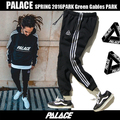 Fashion Leisure Palace Pants JOGGER Hip Hop Drawstring Union Triangle Palacio Autumn Sweatpants Homme Ms Palace Sweatpants
