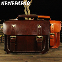 Genuine Cowhide Leather Women's Shoulder Sling Bag Casual Small Mini Handbag Briefcase Portfolio For Female Girl Lady LD043