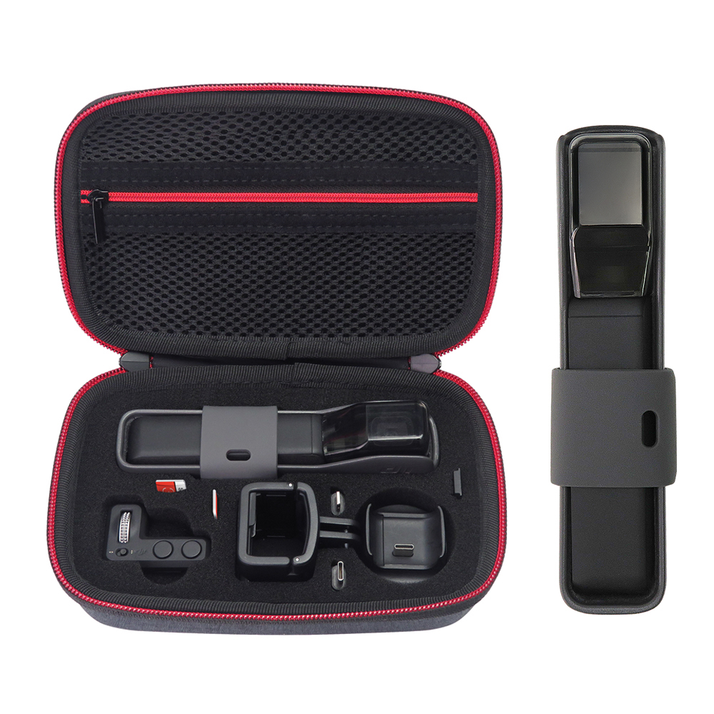Hard EVA Carrying Case For DJI Osmo Pocket, Protective Travel Bag,Come With Lens Cover For Handheld Gimbal Camera