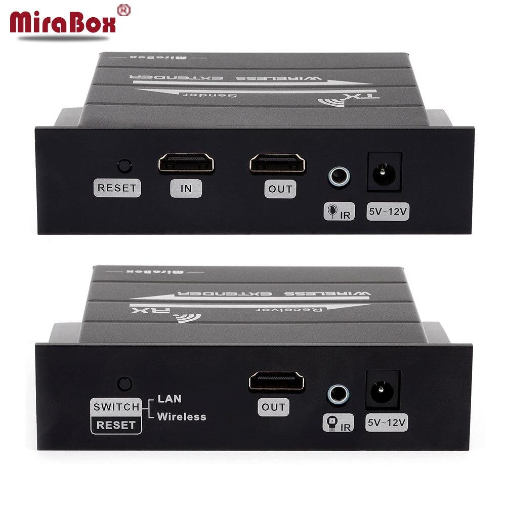 MiraBox IR 1080 P HDMI Extender HDMI Беспроводной видео 30 м HDMI Ethernet Кабель-адапте ...