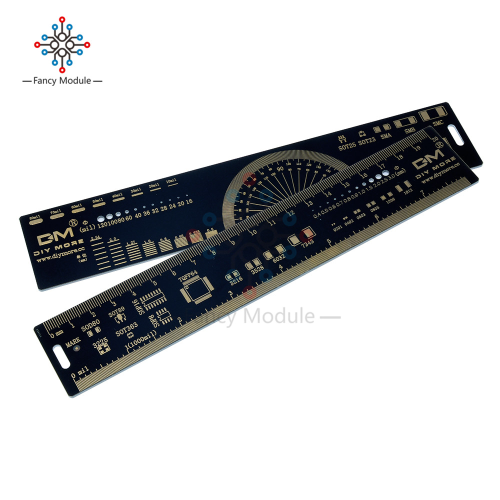 """PCB Ruler v2-6/"""" for Electronic Engineers//Geeks//Makers Fans ASS"""