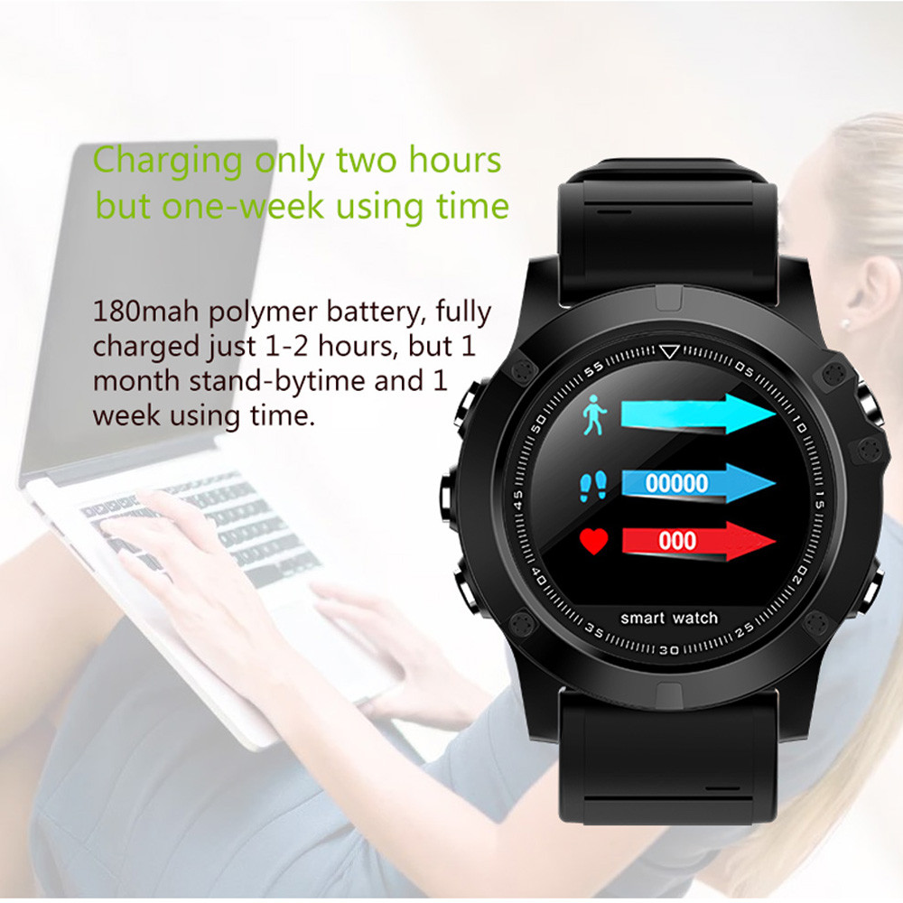 2019 élégant Fitness Bracelet intelligent montre sport étanche fréquence cardiaque moniteur de pression artérielle montre intelligente pour iOS pour Android