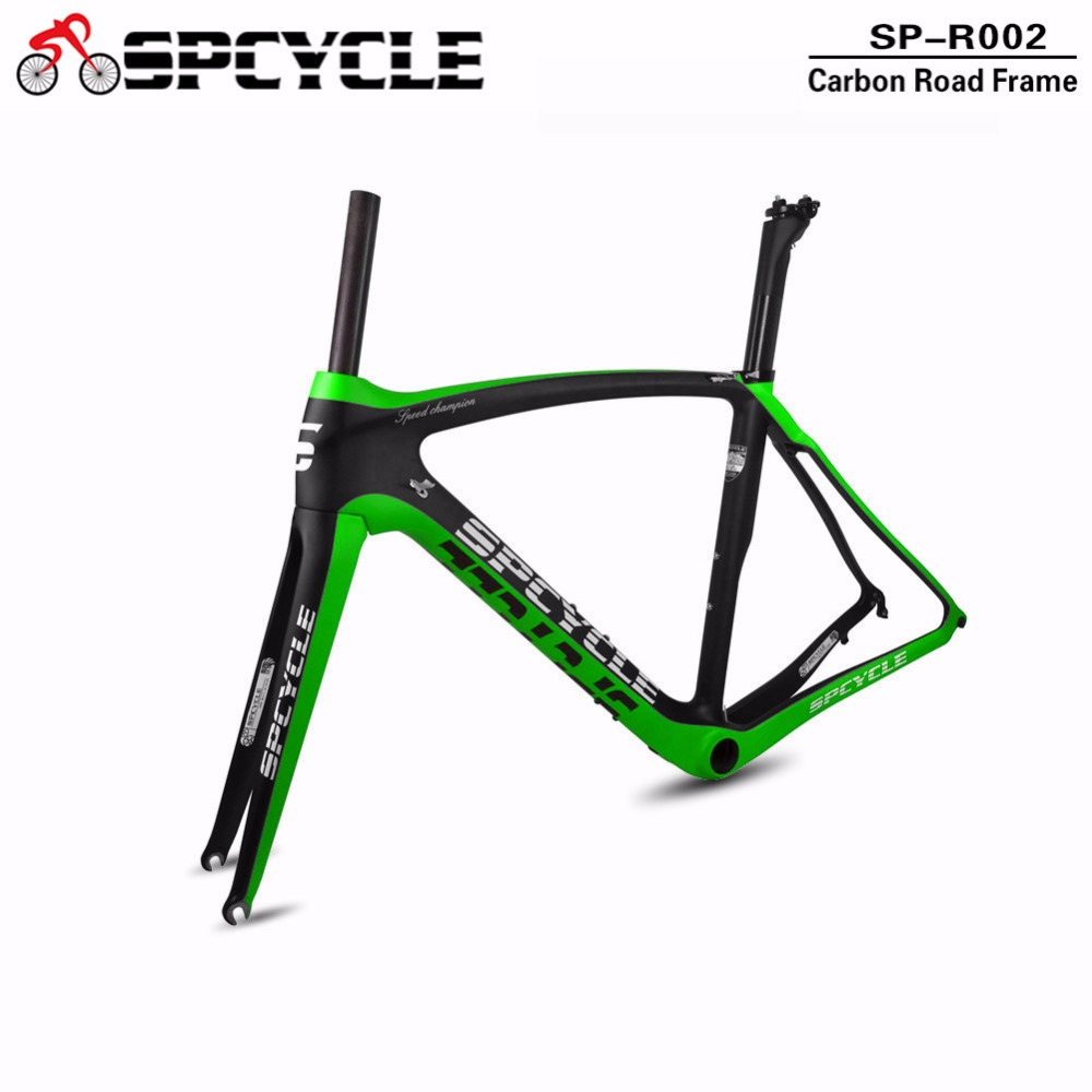 Spcycle T800 Road Carbon Bike Frames,China OEM Full Carbon Aero Cycling Frames, BB386 Bicycle Racing Frame with Fork, Seatpost 2018 winow aero road carbon bike frame china oem full carbon aero frame with fork seatpost clamp headset more color