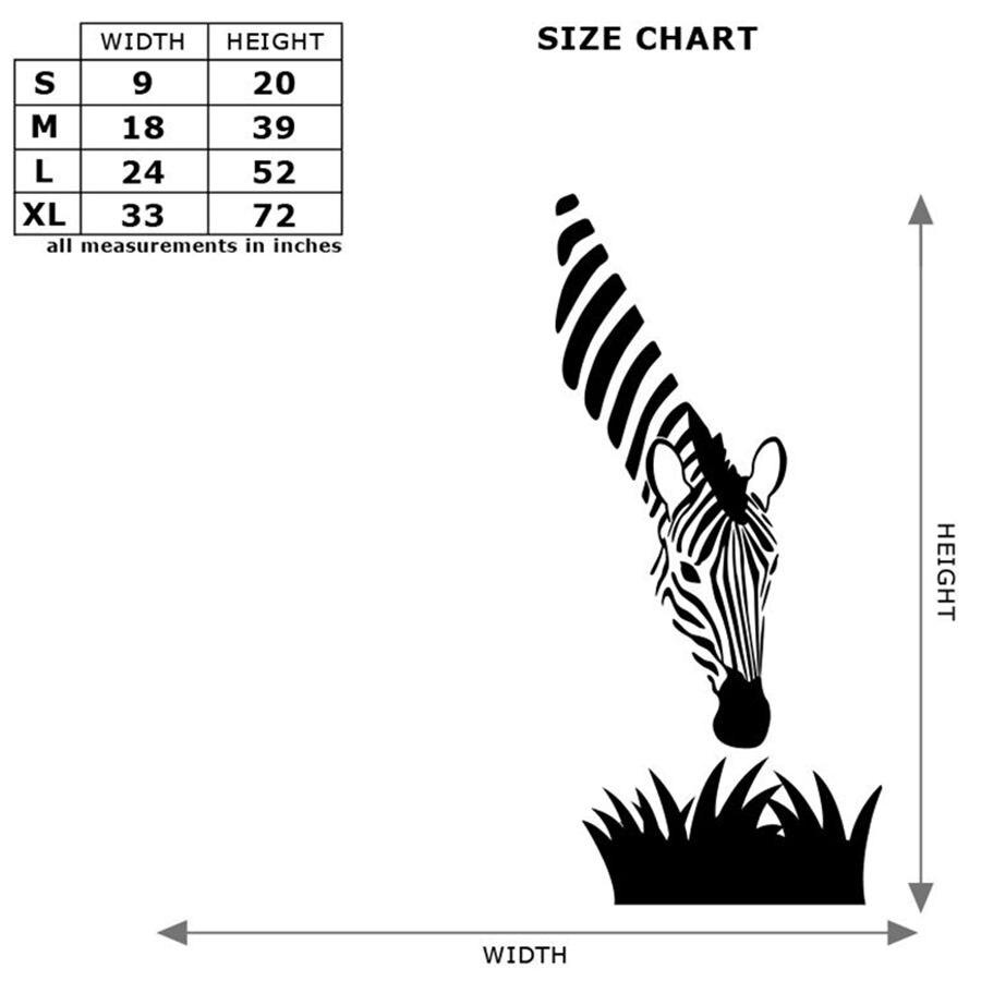 aliexpress : zebra wandtattoos moderne kunst dekoration für, Schlafzimmer entwurf