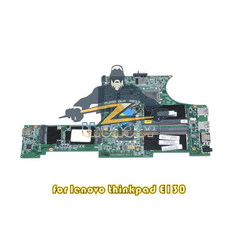 04W4188 DA0LI2MB8F0 i3-2367M for Lenovo ThinkPad Edge E130 laptop motherboard HM77 i3-2367M DDR3 laptop motherboard for acer asipre m3 581t nbry811004 jm50 i3 2367m hm77 gma hd 3000 ddr3