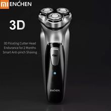 Xiaomi Enchen BlackStone 3D электробритва Мужская моющаяся перезаряжаемая машинка для бритья бороды type-C