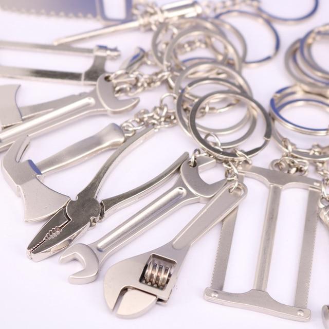 20 Phong Cách Hợp Kim Kẽm Có Thể Thay Đổi Cờ Lê Keychain Thời Trang Cờ Lê Móc Chìa Khóa Sáng Tạo Keyfob Công Cụ