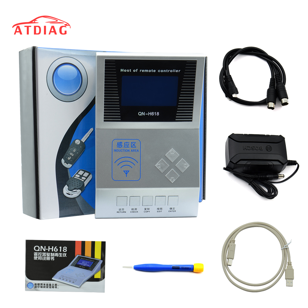 Hot Wireless RF Remote Controller Digital Counter Remote Copier Master H618 Key Programmer Frequency Tester