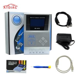 Image 1 - Controlador remoto inalámbrico RF, contador Digital, copiadora remota/Master H618, programador de llaves, probador de frecuencia