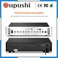 OUPUSHI Q-2020 Предварительный усилитель кампуса вещания интеллектуальная система Регулятор источника звука пожарная резка