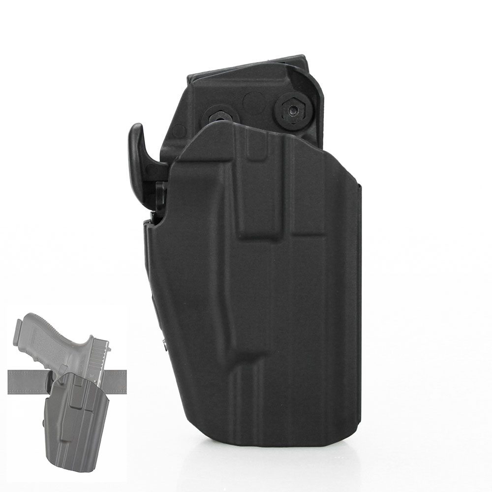 Tactical Pistol Holster Hight Quality Black Color Universal Hunting Holster Glock Holster Fit For G17 G20 G22 G37 PP7-0069