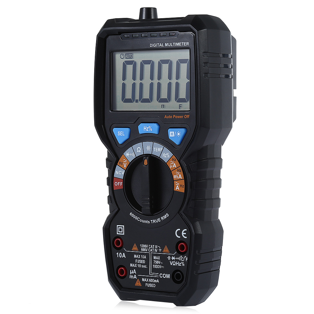 BSIDE ADM08 PRO Temperature Non-contact True RMS Value Digital Multimeter with Backlight Electrical Portable Detection Tool bside adm02 auto range mini digital multimeter w backlight temp max value black blue