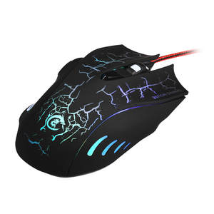 2.4GHz 7 colour six key e-sports game mouse Professional  Gamer mice For PC Laptop Desktop Professional Computer Mouse