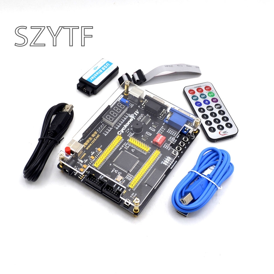 FPGA Совет по развитию ALTERA IV EP4CE четырех поколений NIOSII отправки пульт дистанционного управления, чтобы отправить видео загрузчик коммутацион...