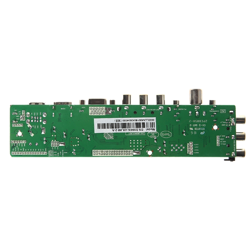 V56 V59 Universal LCD Driver Board DVB T2 TV Board 7 Key Switch IR 4 Lamp Inverter LVDS Cable Kit 3663 in Speaker Accessories from Consumer Electronics