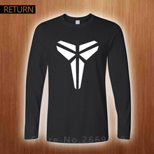 Mens Long Sleeve T-shirt shirt men fall loose T-shirts printed text triangular shape of young new men's casual fashion clothes