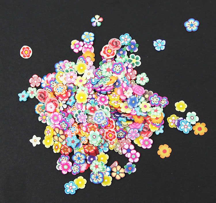 1000 Chiếc Polymer Hoa Đất Sét Đồ Thủ Công Flatback Thêu Sò Cho Tôn Dáng Miếng Dán Móng Nghệ Thuật Trang Trí DIY Phụ Kiện