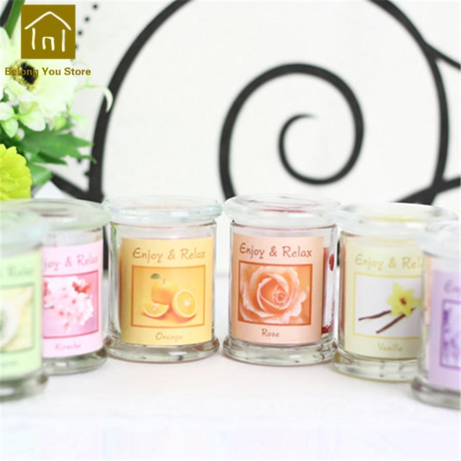Paquet de support de Bougies chauffe-plat aromathérapie Bougies parfumées décoratives Velas Bougies parfumées fabrication de Bougies pilier JKK104 - 6