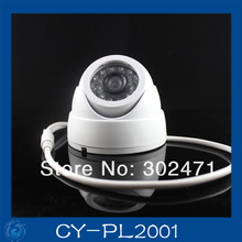 1/4″ CMOS(7030) Metal IR dome camera 500tvl 20m ir distance 3.6m lens outdoor installing cctv cameras live sales.CY-PL2001