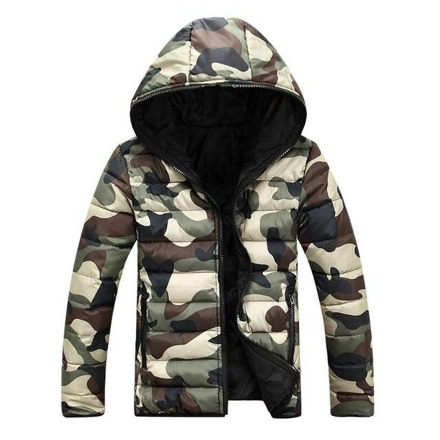 2017 бренд Для мужчин одежда зимняя куртка с капюшоном верхняя одежда теплое пальто мужской сплошной зимняя куртка Для мужчин повседневная теплая куртка-пуховик