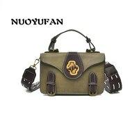 NUOYUFAN Small bag 2018 New wave Korean version of the wild fashion Atmosphere Retro Shoulder Messenger Bag women bag