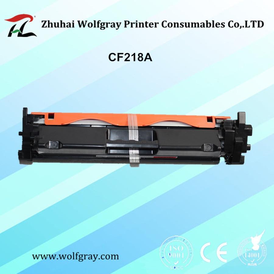Fishek toner kompatibil CF218A CF218 218 18A 218A për HP LaserJet Pro M104a M104w 104 132 132a M132fn M132fp M132fw M132nw