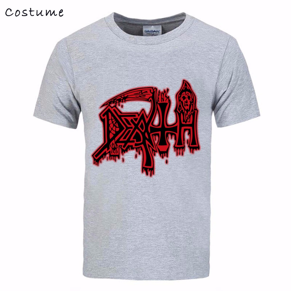 Men DEATH Class Logo 3d T Shirts ROCK BAND HEAVY METAL Cotton Funny Camisetas Clothes 20 ...