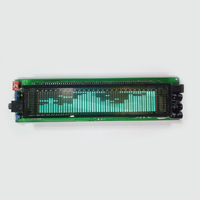 DIY цифровой VFD аудио 17-уровневый анализатор музыкального спектра дисплей 25 Частотный деление FFT громкоговоритель коробка LED 12 24V 3,4 jack