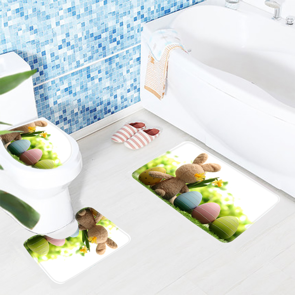 Aliexpress.com : Buy 3PCS Cute Animal Bathroom Mat Set