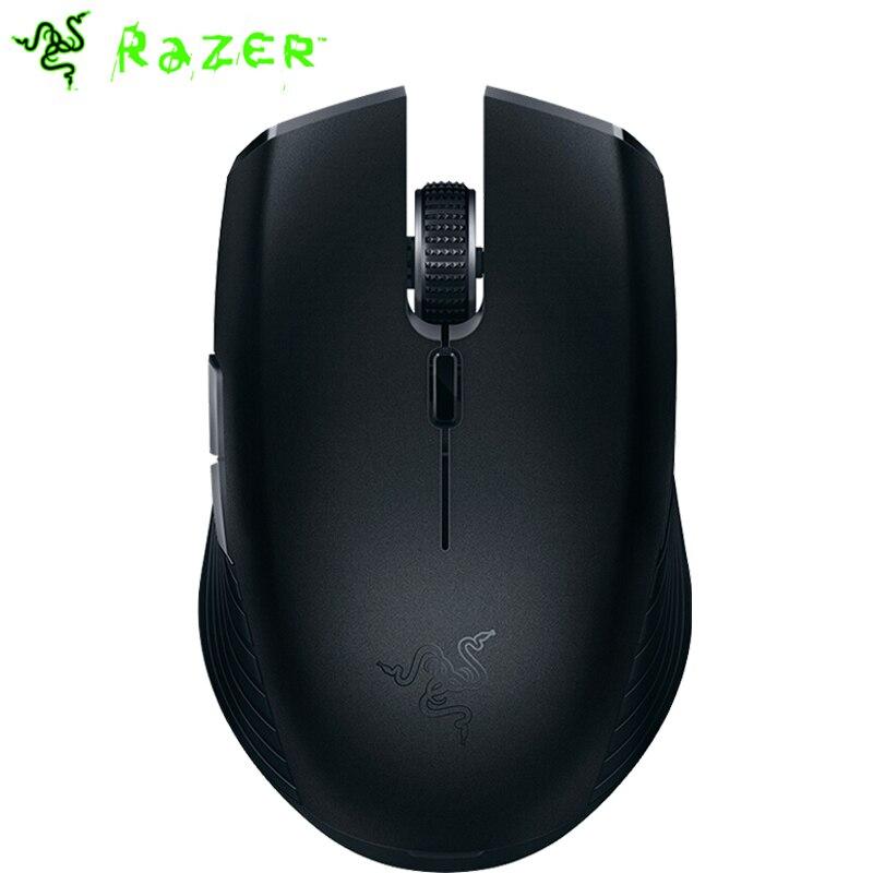 Razer Atheris Bluetooth souris sans fil Mini souris de jeu Portable Gamer ambidextre 7200DPI capteur optique 2.4GHz pour le jeu de travail
