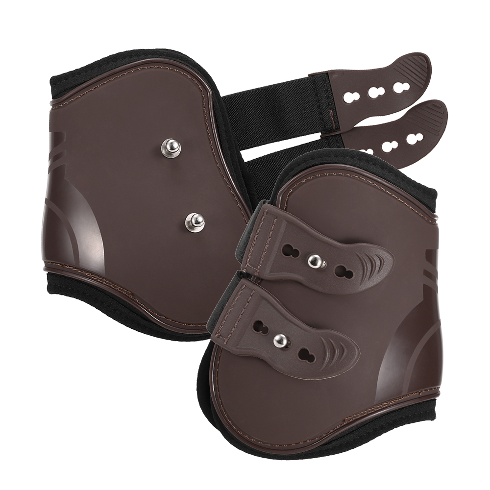 Image 3 - 4 PCS Front Hind Leg Boots Adjustable Horse Leg Boots Equine Front Hind Leg Guard Equestrian Tendon Protection Horse Hock Brace-in Horse Care Products from Sports & Entertainment