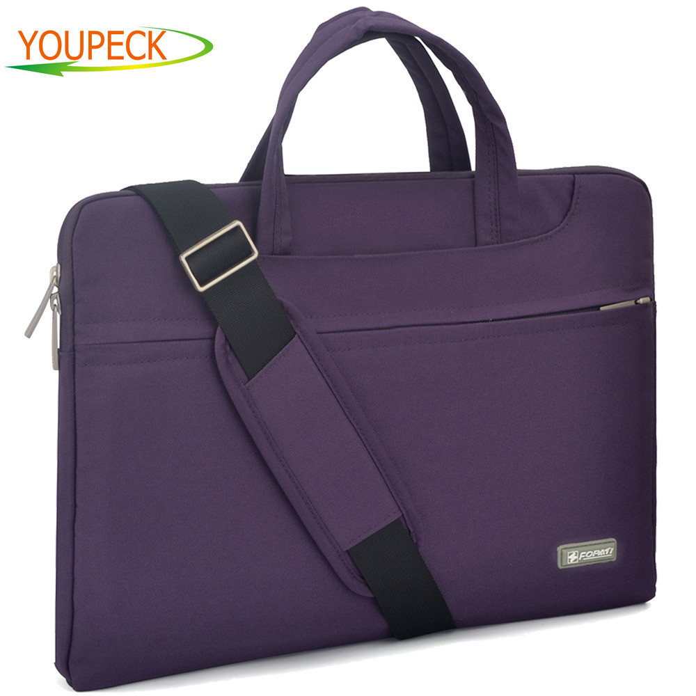 Waterproof Laptop Messenger Bag 11 12 13.3 14 15.4 15.6 inch Nylon Notebook Bag for Dell Laptop Bag for Macbook touchbar 13 15