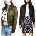 6 Color Fashion Winter Women's V-Neck Jackets Padded Bomber Jacket Slim Zipper Coat Pilots Outerwear chaquetas mujer S-2XL