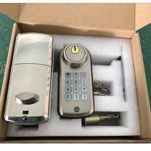 Image 4 - Elettronico Digitale Serratura Della Porta Intelligente Tastiera Locker Lock, Intelligente Codice A Buon Mercato Porta Serratura di Alta Sicurezza di Sicurezza con il Singolo Catenaccio