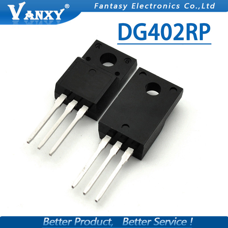 10pcs DG402RP TO-220F DG402 TO220F TO-220 new original