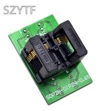 Высокое качество чип программатор SSOP8(28)-0,65 адаптер socke t к DIP20 и DIP8 ots8(28)-0,65-01