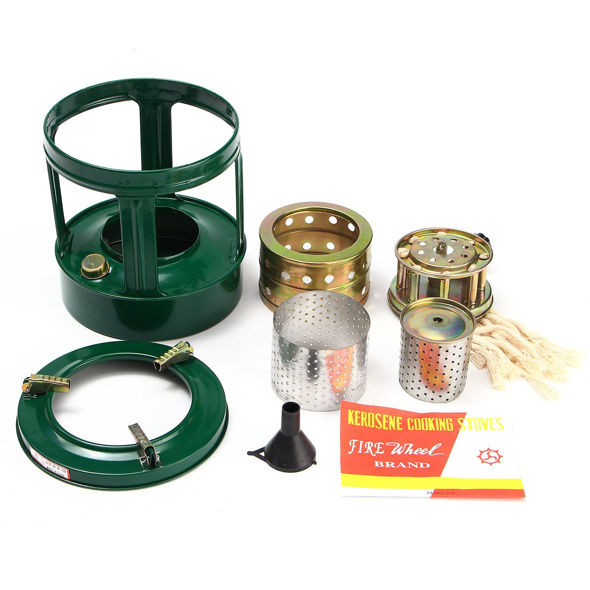 Portable Handy Removable Gas Stove Handy Portable Outdoor 8 Wicks ... for Kerosene Camp Stove  61obs