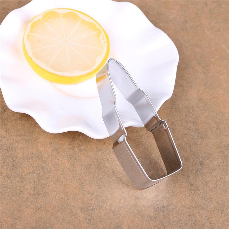 Ζαχαροπλαστικής Εργαλεία diy Ανοξείδωτοι Κόφτες Μπισκότων Σε σχήματα Κραγιόν Και Χείλια
