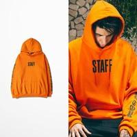 Personeel Print Mannen Hoodies Justin Bieber Hoge Straat Purpose Tour Sweatshirt Hiphop Skateboard Westkust Fog Sweatshirt Bts Ajax