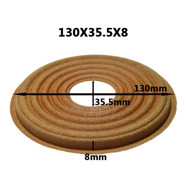 2pcs 130×35.5/130×38.5/130×49.5mm Elastic Wave Loudspeaker Subwoofer Woofer Bass Speaker Repair Spider Damper