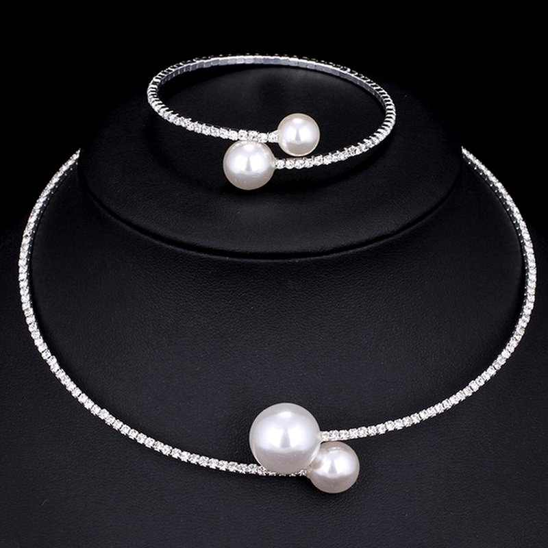 Fashion European Show Celebrity Chokers Brand Simulated Pears