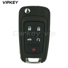 ФОТО Remotekey Flip remote car key OHT01060512 for Chevrolet Camaro Cruze Sonic Malibu Equinox 315 Mhz ID46 electronic chip 5 button