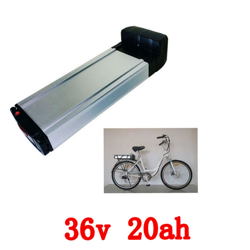 36V 20AH electric bike battery bike lithium battery rear rack battery with Aluminum housing tail light 42v charger liitokala 36v 6ah 500w 18650 lithium battery 36v 8ah electric bike battery with pvc case for electric bicycle 42v 2a charger